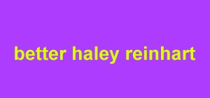 دانلود اهنگ جدید Better از Haley Reinhart